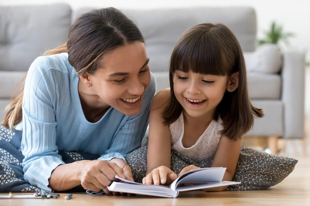 Nanny Reading Book