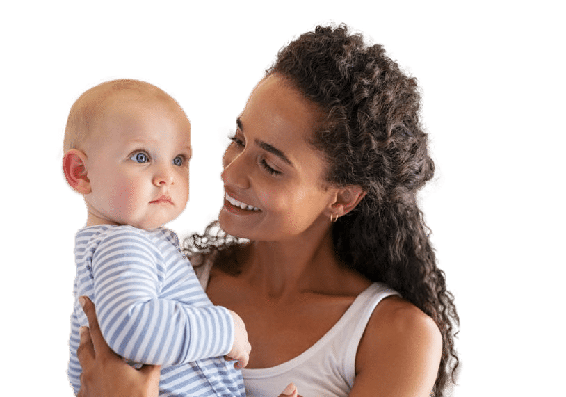 Lovely Multiethnic Mother Holding Baby 8n8saaw 814x571